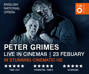 Ad for Peter Grimes ENO performance