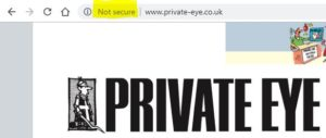Private Eye grab